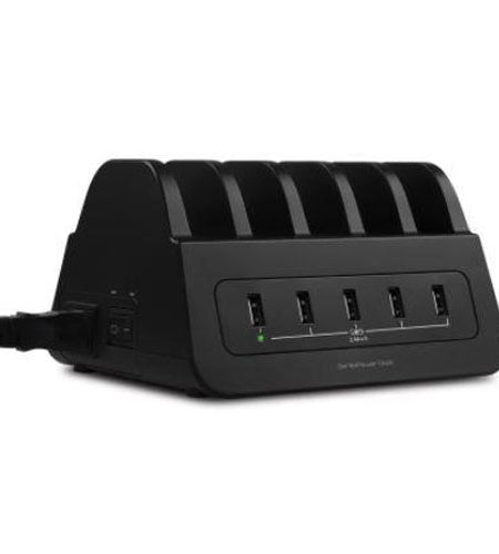 Mbeat GorillaPower Dock 5-Port 60W Charging Dock with 2 AU Power Sockets