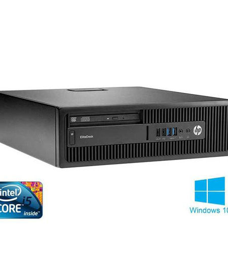 HP EliteDesk 800 G1 SFF i5 8GB 256GB SSD Desktop - Ex Lease Grade A
