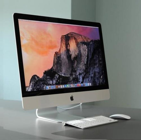 "Apple Slim iMac 27"" AIO i5 8GB, 1TB HDD All-In-One Desktop PC - Ex Lease Grade A"