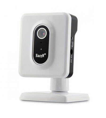 Easy-to-Install Indoor Camera: EasyN Wireless VGA Indoor Fixed Plug and Play IP Camera USB Powered 3.8mm Lens