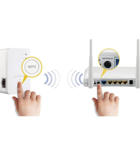 Edimax N300 3-in-1: Mini Wi-fi Extender, Access Point, Wi-fi Bridge