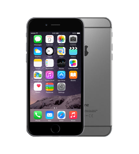 Apple iPhone 6 64GB Space Gray Certified Pre Owned Grade A, Unlocked