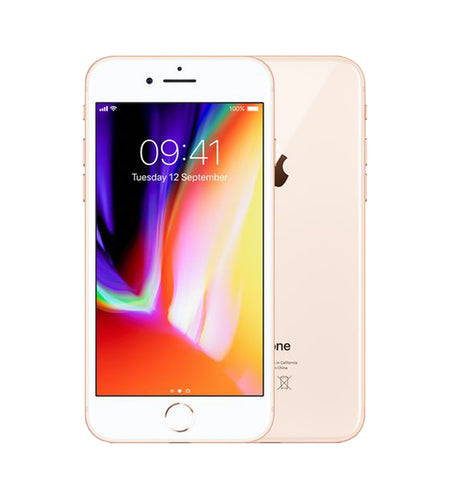 Apple iPhone 8 64GB Gold Pre Owned Grade A, Unlocked