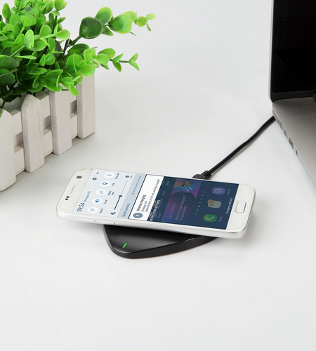 Unitek Super-Thin 10W Qi Wireless Fast Charging Pad