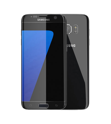 "Samsung S7 Edge 5.5"" 32GB Black Smartphone - Pre-Owned Grade A, Unlocked"