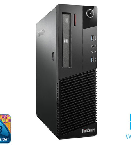 Lenovo ThinkCentre M93p i5, 8GB, 500GB Desktop - Ex Lease, Grade A