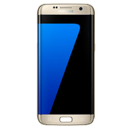 "Samsung S7 EDGE 5.5"" 32GB Gold Smartphone - Pre-Owned Grade A, Unlocked"