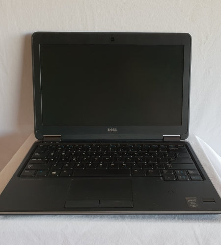 "Dell Latitude E7240 12"" i5 8GB 256GB mSATA SDD Laptop - Ex Lease Grade A"