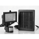 LED Solar-power Garden Security Sensor Flood Light