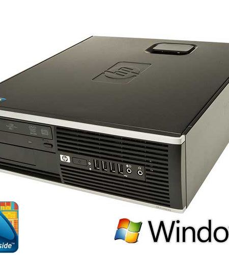 HP 8000 Elite SFF, C2D E8500, 4GB, 250GB, Windows 10