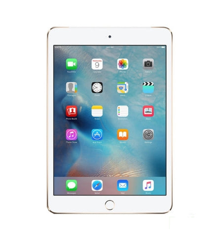 "Apple iPad mini 3 Wi-Fi + Cellular 7.9"" 16GB Gold Tablet - Pre-Owned Grade A"