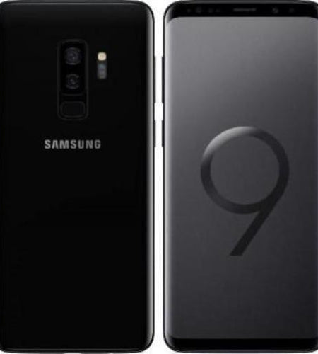 "Samsung Galaxy S9+ 5.8"" 64GB Black Pre-Owned, Grade A+"
