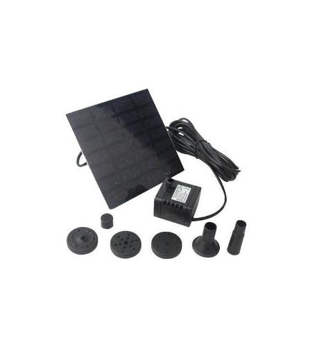 Solar Powered Outdoor Water Pump Fountain