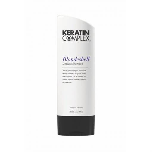 KERATIN COMPLEX BLONDESHELL DEBRASS & BRIGHTEN SHAMPOO 400ML