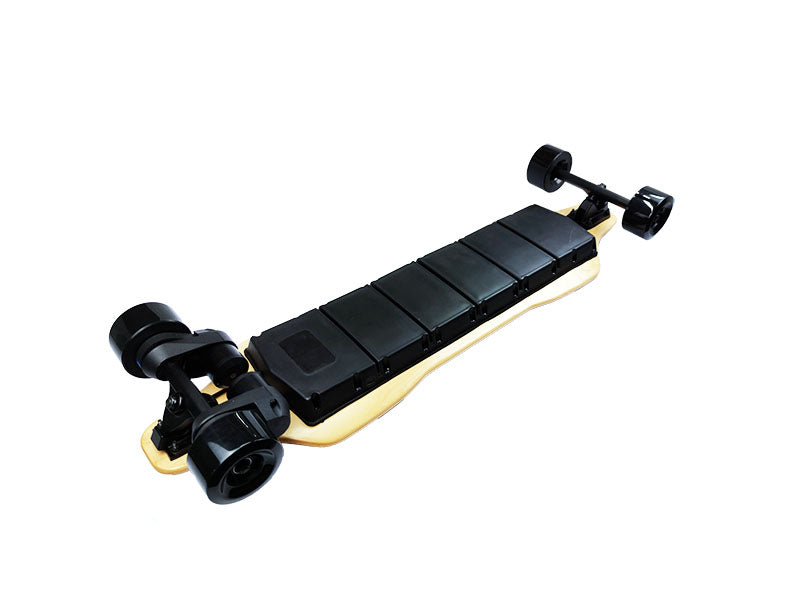 38 inch upgraded version of double belt electric skateboard remote skateboard (scale box)