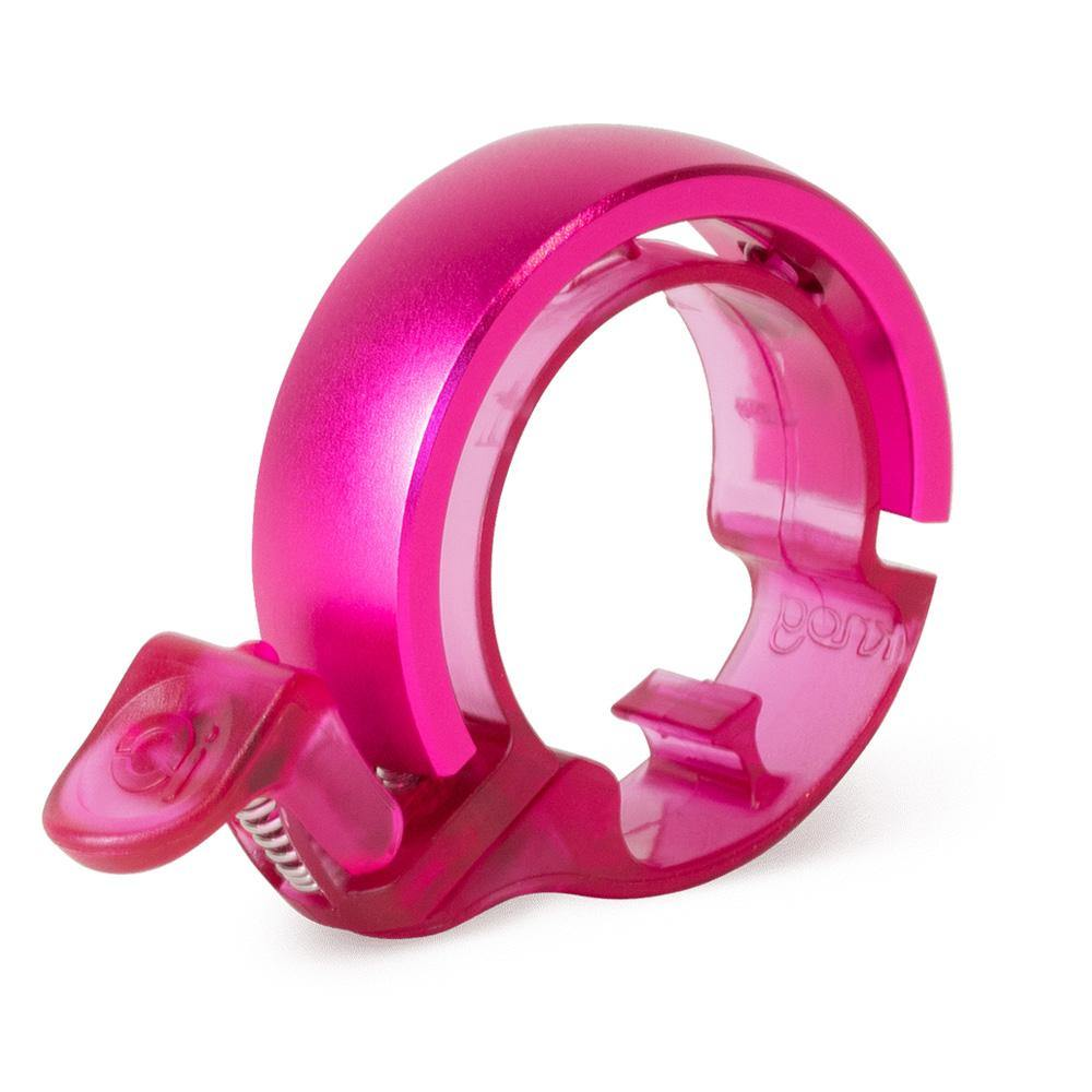 Knog Oi Classic Neon Raspberry Bell Large
