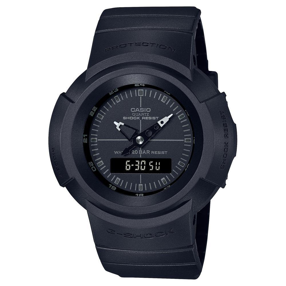 G-Shock Classic Series Black Out Watch AW-500BB-1E
