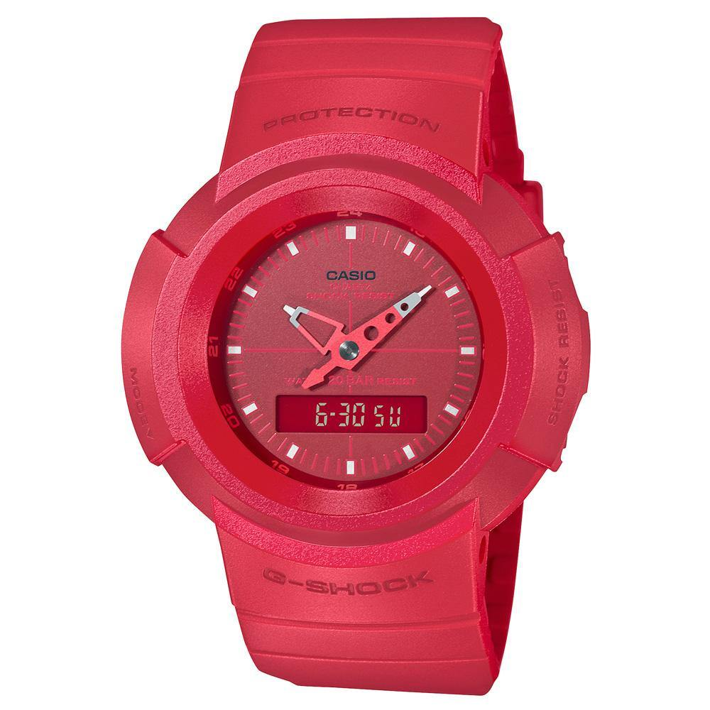 G-Shock Classic Series Red Out Watch AW-500BB-4E