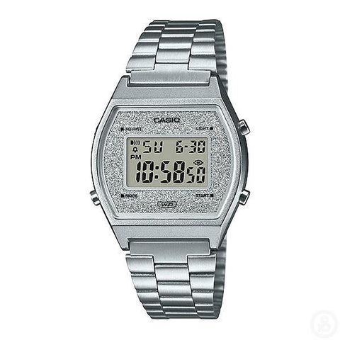 Casio Vintage Series Silver Watch B640WDG-7