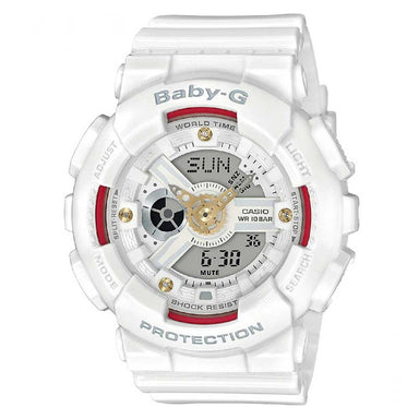 Baby-G Genuine Diamond Index Watch BA-110DDR-7A