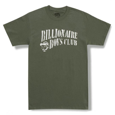 Billionaire Boys Club Stencil Curve Logo T-Shirt