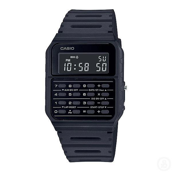 Casio Vintage Series Data Bank Black Watch CA-53WF-1B