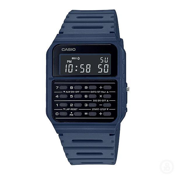 Casio Vintage Series Data Bank Navy Watch CA-53WF-2B