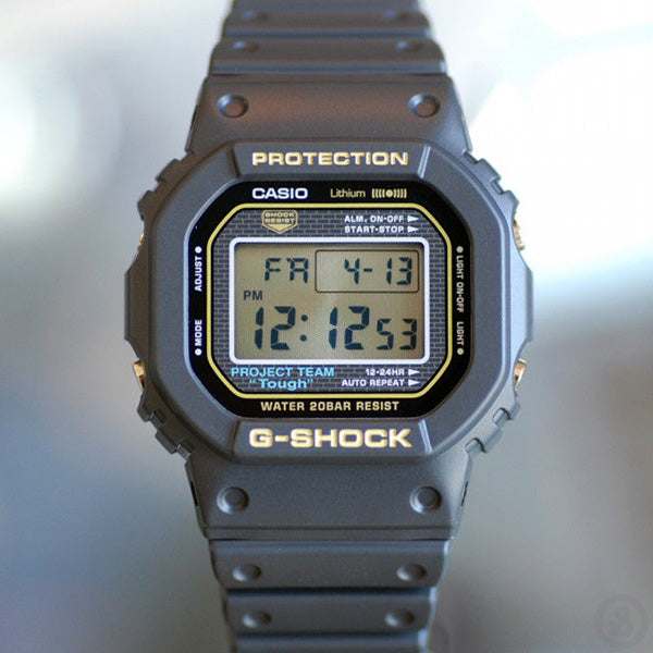 G-SHOCK 35th Anniversary Origin Gold DW-5035D-1B