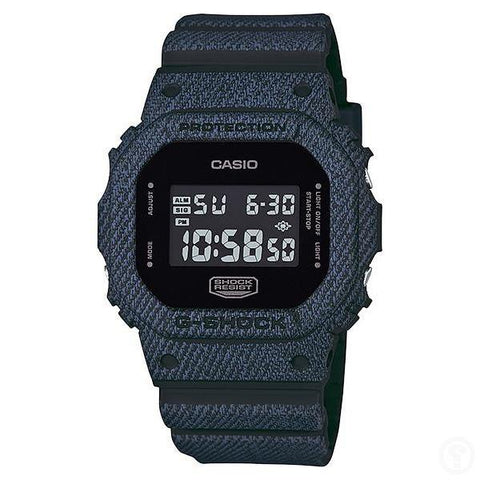 G-Shock Denim Pattern Watch DW-5600DC-1