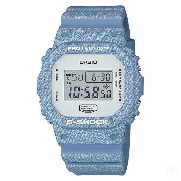 G-Shock Denim Pattern Watch DW-5600DC-2