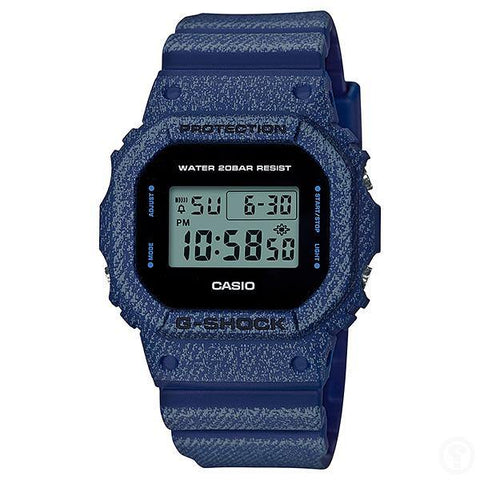 G-Shock Denim Pattern Watch DW-5600DE-2