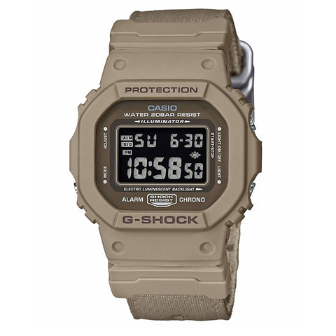 G-SHOCK Reversible Cloth Band Watch DW-5600LU-8