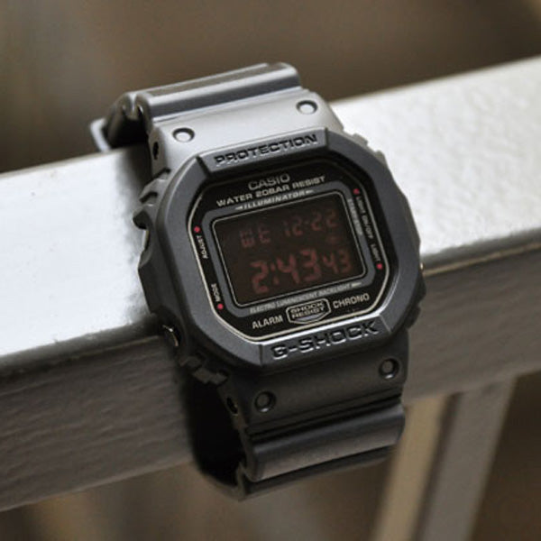 G-Shock Matt Black Watch DW-5600MS-1