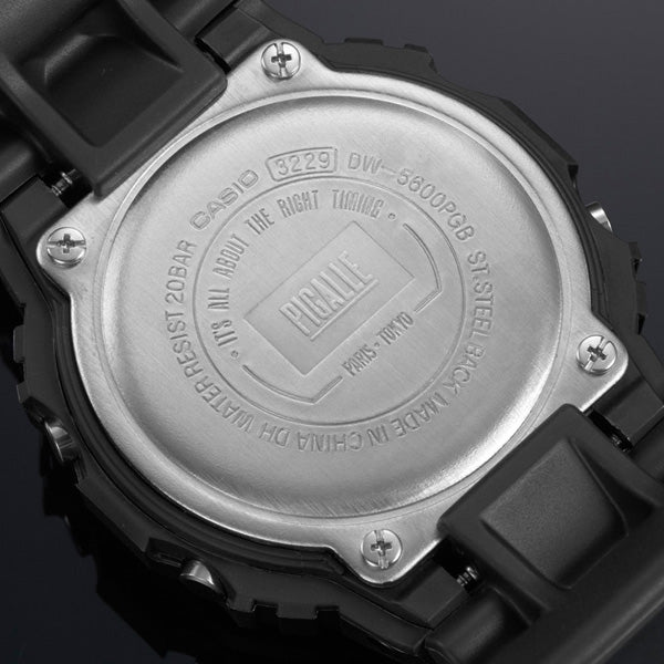 G-SHOCK PIGALLE Watch Back Case