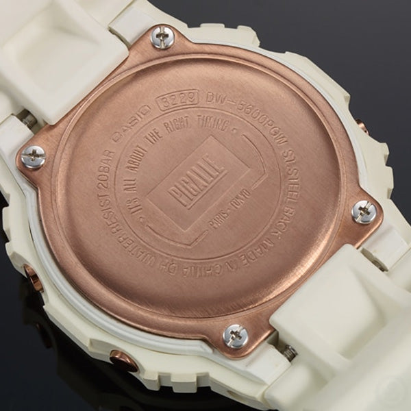 G-SHOCK PIGALLE DW-5600PGB-7 Back Case