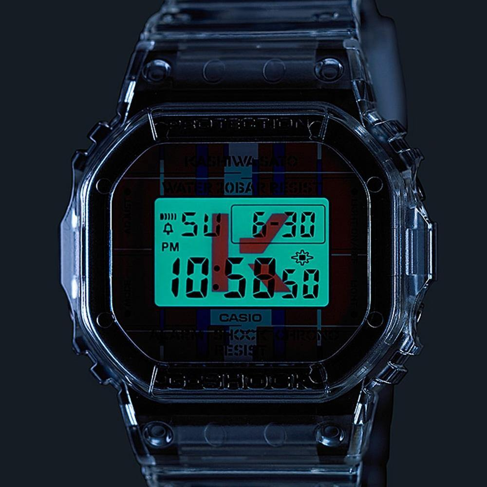 G-Shock x Kashiwa Sato LINES Watch DWE-5600KS-7
