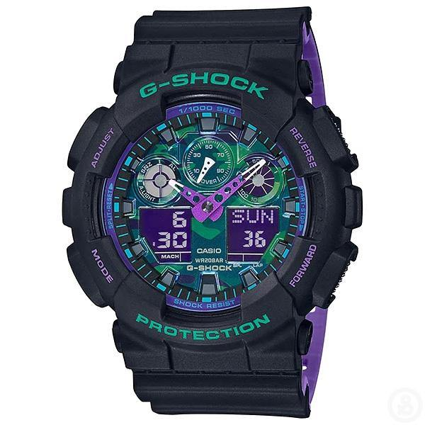 G-Shock Special Colour Watch GA-100BL-1A