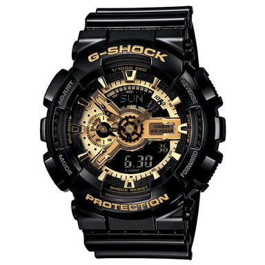 G-Shock Black Gold Watch GA-110GB-1A