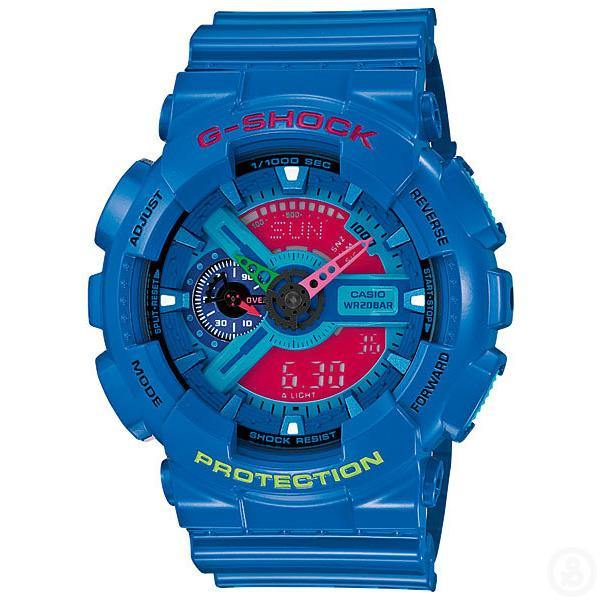 G-Shock Crazy Colors Watch GA-110HC-2A