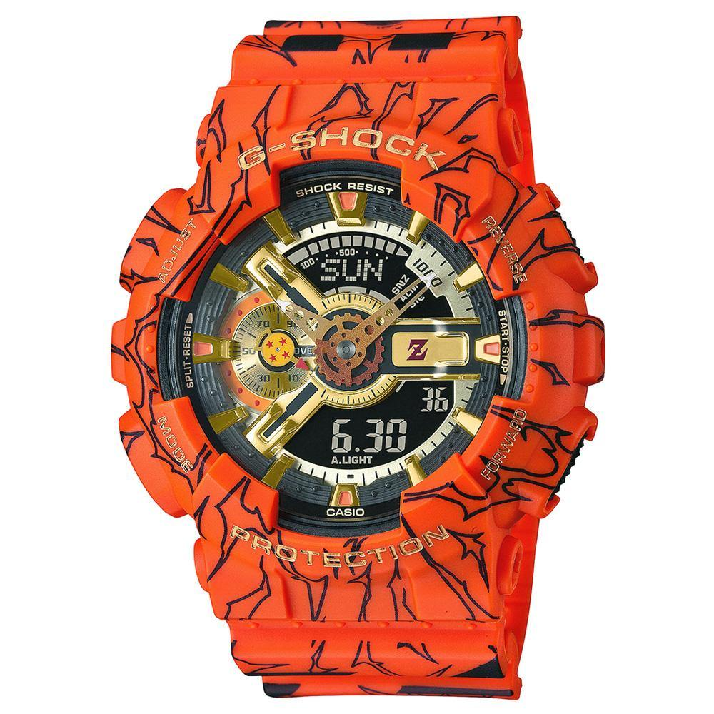 G-Shock x Dragon Ball Z Watch GA-110JDB-1A4