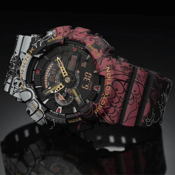 G-Shock x One Piece Watch GA-110JOP-1A4