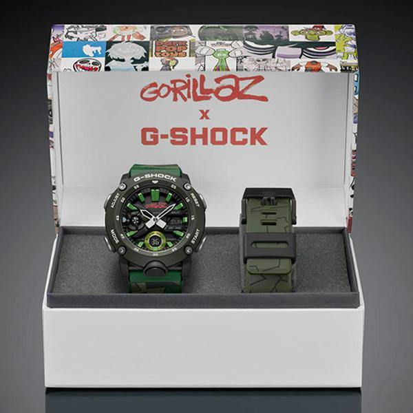 G-SHOCK Gorillaz Watch GA-2000GZ-3A