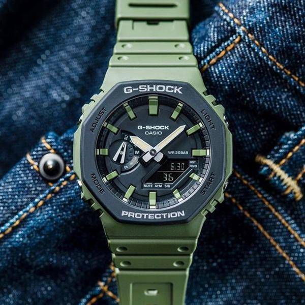 G-Shock Carbon Core Watch GA2110SU-3A