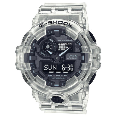 G-Shock Transparent Skeleton Edition Watch GA-700SKE-7A