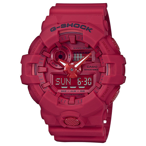 G-SHOCK 35th Anniversary Red Out Edition Watch GA-735C-4A