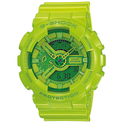 G-Shock Hyper Colors Green Watch GA-110B-3