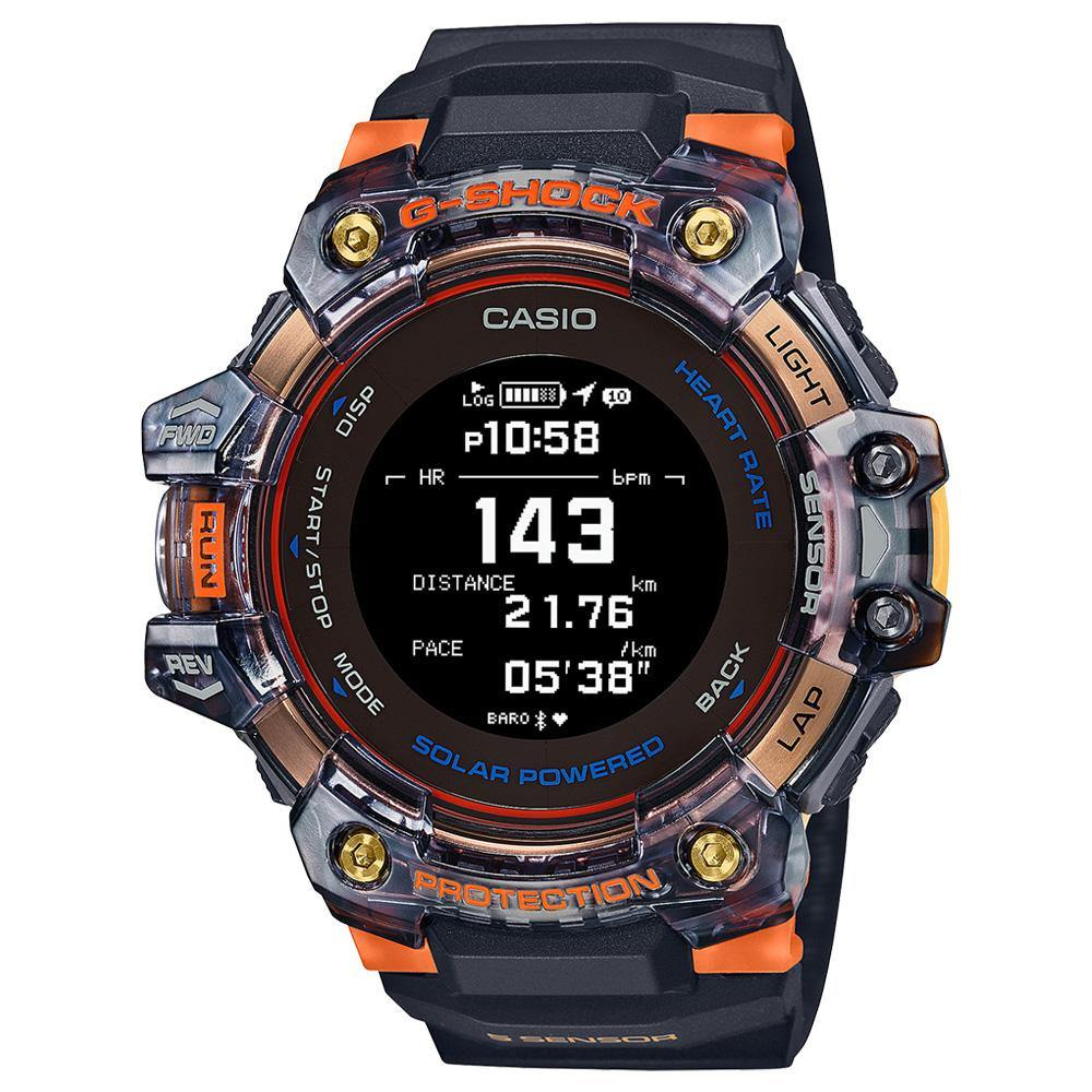 G-Shock G-Squad Semitransparent Watch GBD-H1000-1A4