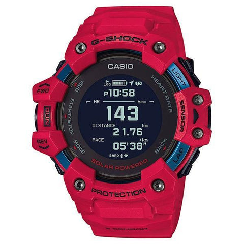 G-Shock G-Squad Watch Red GBD-H1000-4