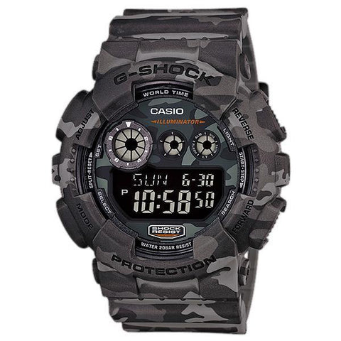 G-Shock Camouflage Watch GD-120CM-8