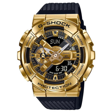 G-Shock Metal Bezel Gold Watch GM-110G-1A9